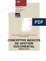 Conceptos Basicos de Gestion Documental MILA
