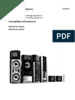 Philips FWD876 Manual de Usuario - Español