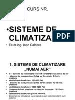 Curs Sisteme de Climatizare