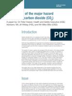 Major Hazard Potential Carbon Dioxide
