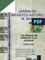 Proyecto La Murga Jardin Arturo m