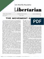 Libertarian Journal 1969-06-01