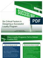 How to Design a Successful Loyalty Program