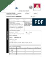 Application Filled HZL-1