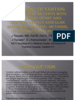 Placement of Central Catheters in Patients With Congenital Heart
