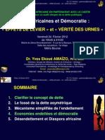 Dettes Et Democratie - Paris 24 Fev 2012 Amaizo