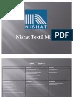 Nishat SWOT Analysis