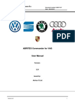 ABRITES Commander for VAG Manual
