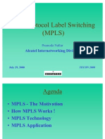 Multi Protocol Label Switching (MPLS)