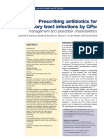 Akkerman - Prescribing Antibiotics for RTI by GPs - Management and Presciber Characteristic