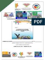 PRODUCTOS Curso Taller Enseñanza C NAT EBP CARRERA MAG XXI  2012 unitep053  atp FJIR