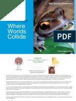 New Species Report