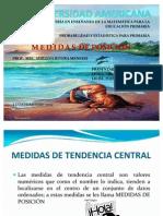 PRESENTACIÓN MEDIDAS DE POSICIÓN
