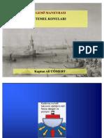 gemi manevrası temel konular