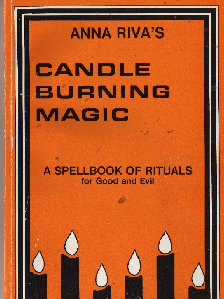 Anna rivas candle burning magicspellbook of rituals for good and evil fandeluxe Gallery