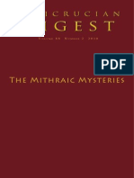 Rosicrucian Digest- The Mithraic Mysteries