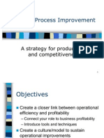Process Improvement Profit0