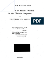 The Gnosis or Ancient Wisdom in the Christian Sculptures-William Kingsland-1937-230pgs-REL
