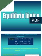Equilibrio Ionico 1