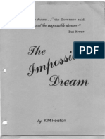 The Impossible Dream Maureen Heaton 1990 356pgs POL