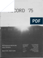 1975 Patchogue-Medford High Yearbook - Part 2 - Activities and Sports