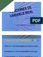 Funciones de Variable Real (definición y transformaciones)