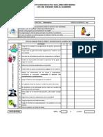 Lista de Chequeo cuaderno  matemáticas noveno 2012- periodo 1