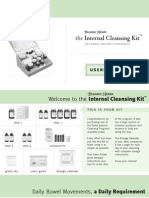 Complete Internal Cleansing Kit Users Guide
