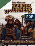 Mythus Dangerous Journeys Gamemaser Screen