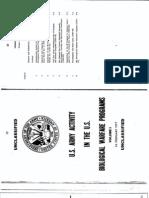 U.S. Army Activity in the U.S - Biological Warfare Programs 1977