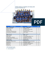 SEASAC Swimming Team 2012