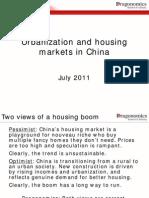 Urbanization and Housing Markets in China