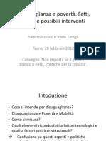 Presentazione Disuguaglianza Brusco Tinagli Convegno Fondazione Nfa