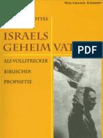 Wolfgang Eggert - Israels_Geheimvatikan III 2002