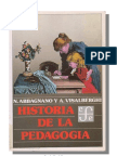Abbagnano Y Visalberghi - Historia de La Pedagogia