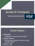 Spread of Christianity -- Harcum