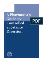 A Pharmacists Guide to Controlled Substance diversion!
