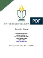 University Catalog