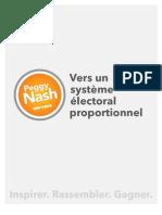 Vers un système électoral proportionnel