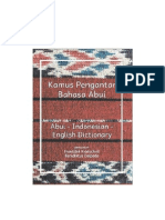 Abui Indonesian English Dictionary