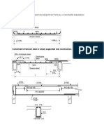 Arrangement of Reinforcement in Typical Concrete Members