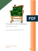 Cuaderno de Consignas Matematicas 1 Cuarto Bimestre