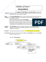 Guideline for Numerproj