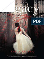Legacy by Cayla Kluver - Chapter Sampler