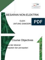 3 - (PBL) Besaran Non-Elektrik