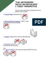 Virtual Networks in VirtualBox--Linux