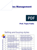 Chapter 2 - Selling Skills and Strategies