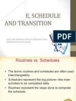 6-Schedules and Routines