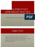 3-Developmentally Appropriate Practice