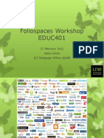 Foliospaces_EDUC401